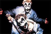 Pictured: Insane Clown Posse. Sometimes people get confused about exactly who this is a picture of.