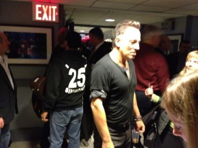 springsteen fallon backstage