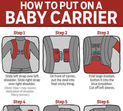 How to Put on a Baby Carrier (NickMom/Jeff Vrabel)