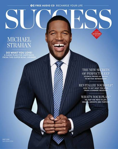 michael strahan success cover